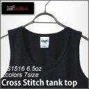【CROSS STITCH】6.5オンスタンクトップ(XS〜XL)
