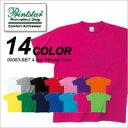 激安価格が魅力の4.0オンスの薄手のライトウェイトTシャツ(その他カラー:150cm?XL)|メンズ