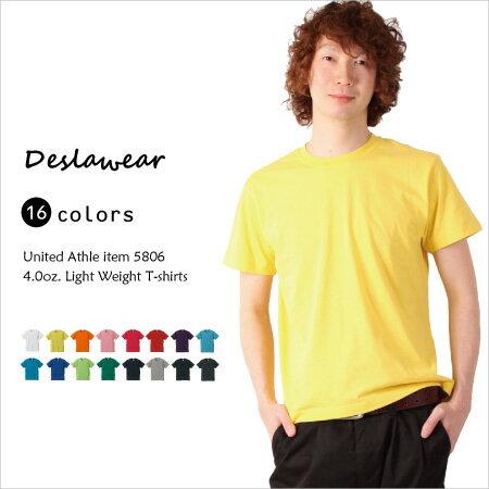 4.0オンスの薄手生地の激安Tシャツ!伸びにくい...の商品画像