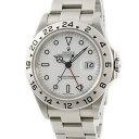 ロレックス ROLEX エクスプローラー2 16570 P番 白 メンズ 腕時計自動巻き ホワイト 【中古】【店頭受取対応商品】