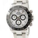 ロレックス ROLEX デイトナ クロノ 116500LN ランダム番 白 メンズ 腕時計自動巻き ホワイト 【中古】【店頭受取対応商品】