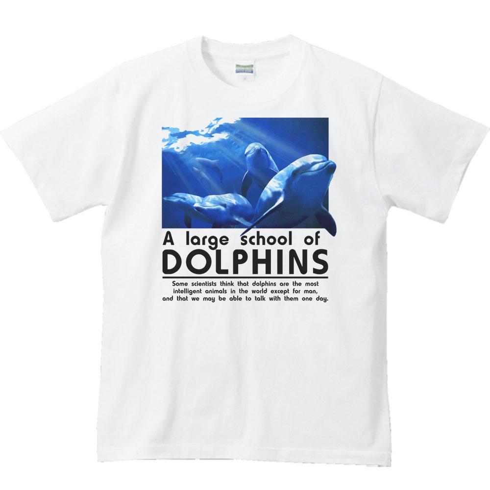 イルカの群れ/半袖Tシャツ