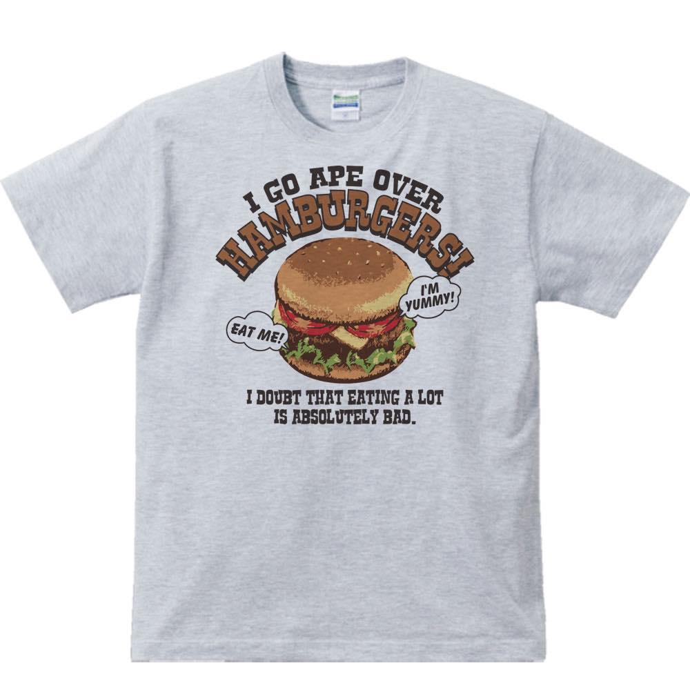 ハンバーガー大好き!/半袖Tシャツ