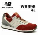 ニューバランス WR996new balance WR996 GL レッド/ホワイト 靴 05P09Jul16