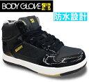スノトレ メンズ防水 スニーカー スノトレ スノートレBODY GLOVE BG050 ボディグローブ BG0050 防水スニーカー 防水ブーツ 靴