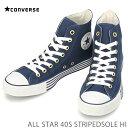 ショッピングオールスター コンバース オールスターCONVERSE ALL STAR 40S STRIPEDSOLE HI ネイビーコンバース オールスター 40S ストライプドソール HI 3296236スニーカー