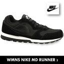 ナイキ スニーカー レディースナイキ ウイメンズ MDランナー2NIKE WMNS MD RUNNER 2 749869-001 靴 05P28Sep16