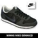 ナイキ スニーカーナイキ ウィメンズ ジニコNIKE WMNS GENICCO 644451-001 ブラック/アンスラサイト/ウルフグレー 靴
