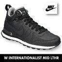 ナイキ スニーカーナイキ インターナショナリストミッドNIKE INTERNATIONALIST MID LTHR 859549-001 靴