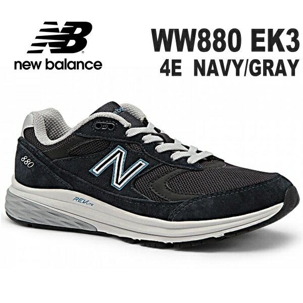 ニューバランス WW880 EK3 4E NAV...の商品画像