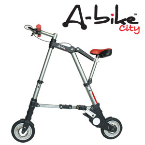 2013-2014 Fiscal year version see Japan dealer' a-bike City 8-inch smallest folding bike! A-bike city Aion 8 inch / commuter / commute / Road collapse