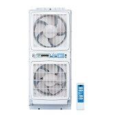 【あす楽対応】高須産業(TSK) 同時給排形窓用換気扇 ウィンドゥツインファン(リモコン付) FMT-200S