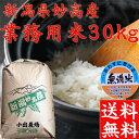 【送料無料】【訳あり業務用米30kg】【28年産】新潟県 無洗米