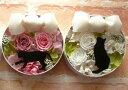 【送料無料】キャットラウンド プリザーブドフラワー 猫 プリザーブドフラワー ホワイトデー【smtb-s】猫 ねこ 黒ねこ【楽ギフ_メッセ】【楽ギフ_包装】【記念日】【プレゼント】結婚祝い、退職祝い、母の日【10P22Jul11】【駅伝_関東】