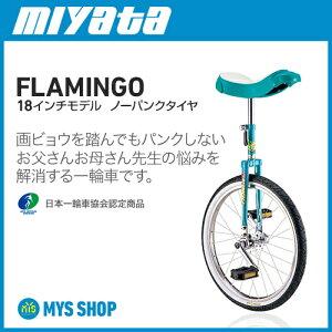 ミヤタ フラミンゴ ノーパンク 18インチ グリーン