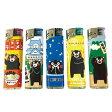 【新CR対応】くまモンのライター 使い捨て電子ライター 5本セット 東京パイプ 熊本県 くまもん
