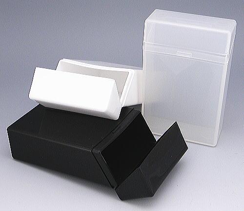 【BOXケース】プラスチック シガレットケース ★デコ加工にもどうぞ!ワンタッチ タバコケース 煙草ケース たばこケース 収納ケース 絆創膏入れ