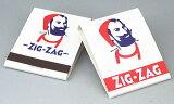 【手巻き煙草柄】ZIG-ZAG ジグザグ柄 ブックマッチ 20本入×2組 zigzag