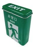 フリーケース【非常口 EXIT】85ミリ20本用 柄 シガレットケース ブリキ缶 キャンディー缶