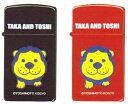 【送料無料】吉本興業公認 タカ&トシ TAKA&TOSHI ZIPPO スリムサイズ