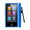 iPodケース 第7世代 クリップ デザイン アイポッド カバー ケース TPU ベルトクリップ付き...