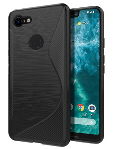 Google Pixel 3 XL ケース TPU レンズ保護 docomo Sof