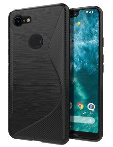 Google Pixel 3 ケース TPU レンズ保護 docomo Softba