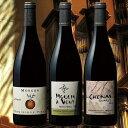 【送料無料】ミシュランガイド星付レストラン採用ワイン クリュ・デュ・ボジョレー3村飲み比べ3本セット[赤ワイン][ワインセット][赤:フルボディ] 【7774368】