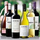 【送料無料】ブラジル最大級生産者オーロラワイナリー赤白スパークリング飲み比べ6本セット[赤ワイン][赤:フルボディ][白:辛口][白ワイン][ワインセット][ス...