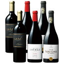 【送料無料】パーカー絶賛ワイナリー ドメーヌ ラファージュ赤飲み比べ3種6本セット [赤ワイン] [ワインセット] 【7783732】