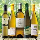 高評価&樽熟成入り!世界の白ワイン5本セット