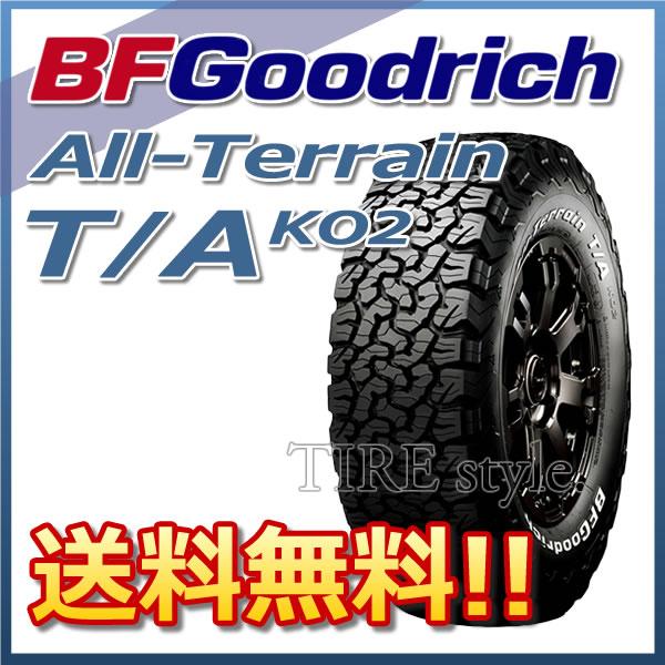 サマータイヤ BF GOODRICH 新製品 ピレリ ALL-Terrain T/A KO2 ダンロップ LT265/65R18 117/114R LRD レイズドホワイトレター 4X4・SUV用:タイヤスタイル タイヤ1本からでも送料無料! ※北海道・沖縄・離島は除きます。