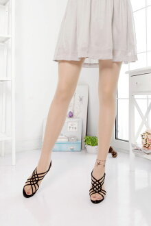 Tattoo tights leg anklet pattern (left foot patterned, 20 denier) ♪ patterned tights patterned stockings tattoo stockings made in Japan tattoo ladies wedding tattoo stocking tights ladies!-ZB