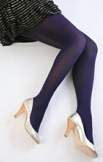 Color tights (by dark blue )♪ 1,050 yen purchase, choice ♪ thick lady's stocking tights ladies ♪ -Z fs3gm)