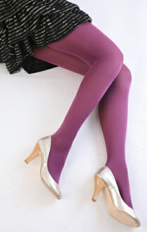 Color tights (purple) ♪ 1050 yen buying and selection in ♪ thick ladies stocking tights ladies!-z fs2gm