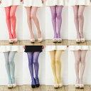 MORE 17デニール カラーストッキング (全10色)(光沢糸使用・つま先スルー・きらめく透明感)(日本製・Made in Japan) ♪ カラータイツ シアータイツ レディース stocking tights ladies ♪-ZB