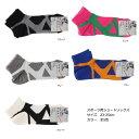 スポーツ用ショートソックス (足裏から甲を強力サポート)(23-25cm) レディース 靴下 sports socks ladies