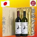 秘蔵わいんアクアヴィタエ 赤白木箱入り2本セット 日本ワイン AQUAVITAE