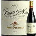 ピエール・ポネル ピノ・ノワール2013  フランス赤ワイン Pierre Ponnelle: Pinot Noir Vin de France