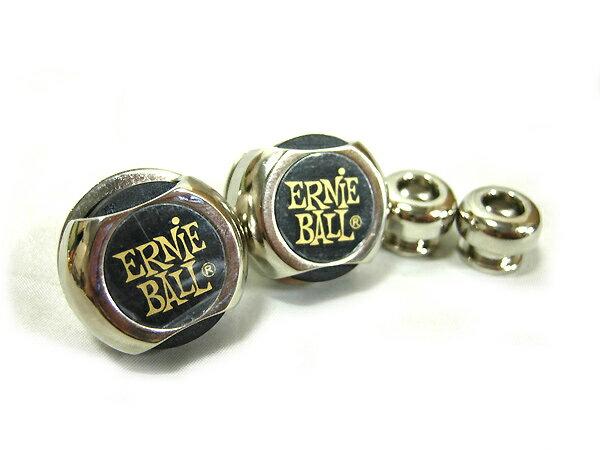 【as】ERNiE BALL/アーニーボール #4600 Strap Lock (Nickel)  ニッケル ストラップロックピン【RCP】【P2】