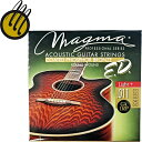 【メール便での配送】MAGMA GA130P Light+ 011-015-023-032-042-052/アコースティックギター用セット弦(フォスファーブロンズコート/ラウンドワウンド) ライト【RCP】