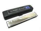 【あす楽対応】TOMBO/トンボ No.3124 Key:C調 TOMBO BAND(トンボバンド) 24穴複音ハーモニカ【RCP】【P2】