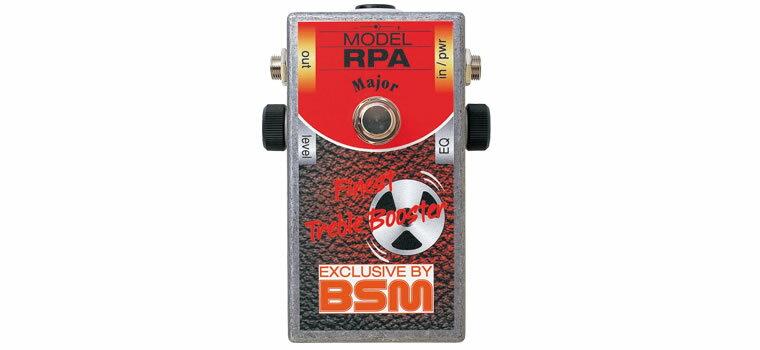 【お取寄商品】【正規品】BSM RPA Major スペシャル・ブースター(リッチーブラックモア・プリアンプ・ゲインアップモデル)【RCP】【P2】