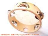 皮つきタンバリン TMC-18/18cm 教育用 キクタニミュージック KIKUTANI MUSIC【RCP】【P2】