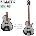 ZEMAITIS(ゼマイティス) A22B MF Black(ブラック) METAL FRONT / ANTANUS メタルフロント/エレキベース【RCP】