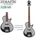 ZEMAITIS(ゼマイティス) A22B MF Black(ブラック) METAL FRONT/ANTANUS/メタルフロント/エレキベース(4弦)【RCP】