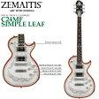 ZEMAITIS(ゼマイティス) C24MF SIMPLE LEAF/METAL FRONT / CASIMERE / メタルフロント/エレキギター【RCP】