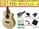 【嬉しい7点セット】ARIA/アリア TG-1/TG1 N/ナチュラル 小ぶりなアコースティックギター【RCP】【P2】