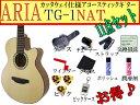 【満足な11点セット】ARIA/アリア TG-1/TG1 N/ナチュラル 小ぶりなアコースティックギター【RCP】【P2】