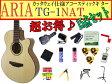 【完璧15点セット】ARIA/アリア TG-1/TG1 N/ナチュラル 小ぶりなアコースティックギター【RCP】【P2】